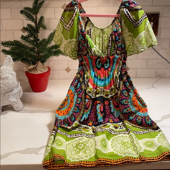 Other - GIRLS TRIBAL PRINT DRESS OR TOP